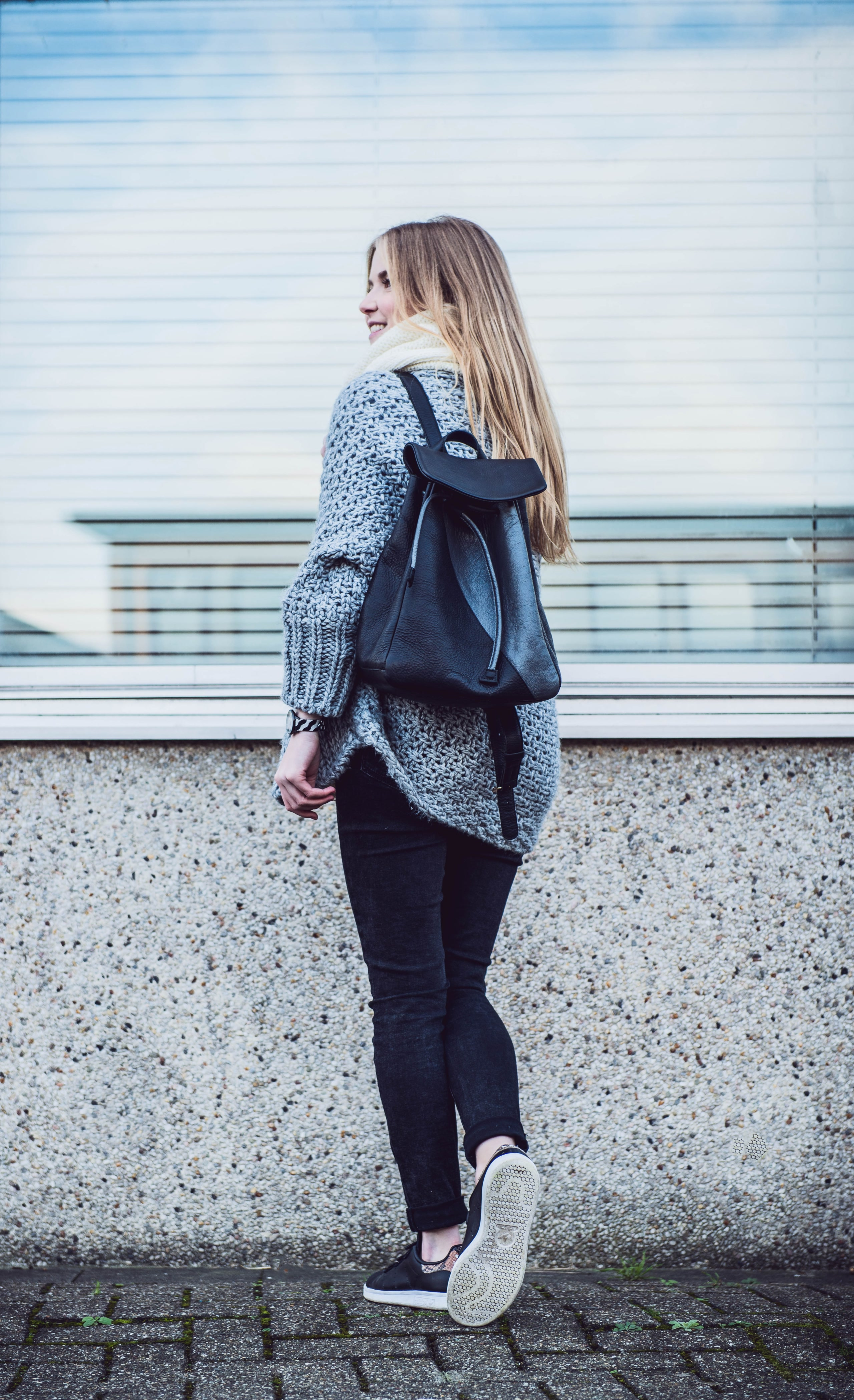 outfit knitwear