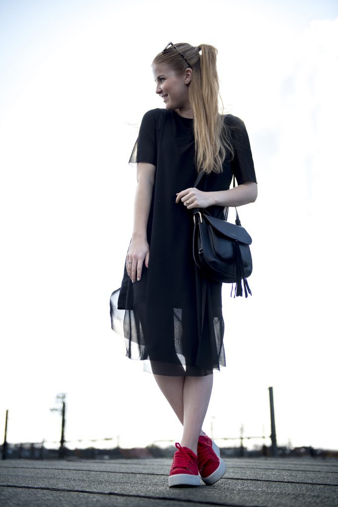 Spring outfit - COS dress & Bent Merkschoenen