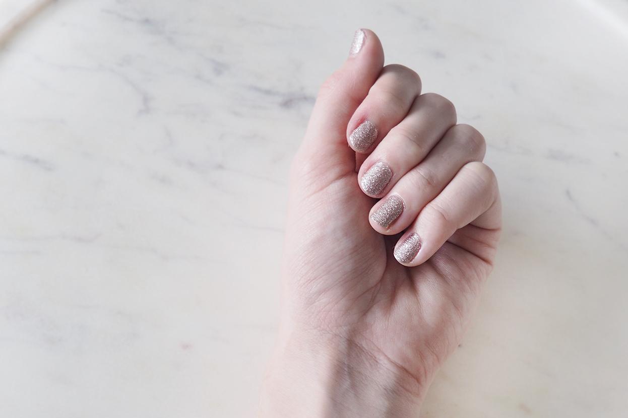 YSL savage pink nails